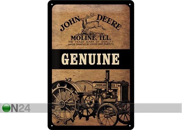 Металлический постер в ретро-стиле John Deere Genuine 20x30cm SG-78429