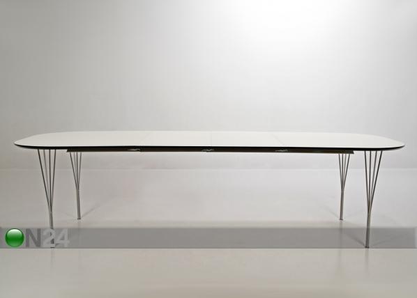 Jatkettava ruokapöytä PIPPOLO 100x180-380 cm CM-79733