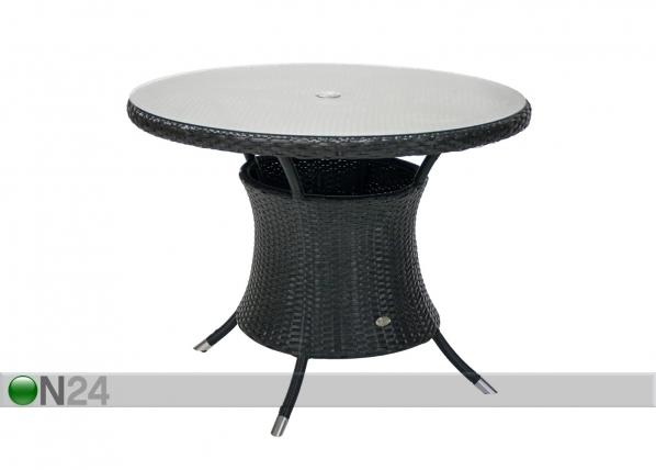 Puutarhapöytä WICKER EV-79889