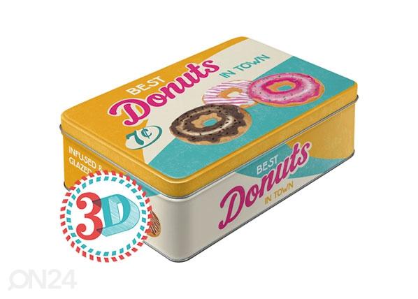 Peltipurkki BEST DONUTS IN TOWN 2,5 L SG-80079
