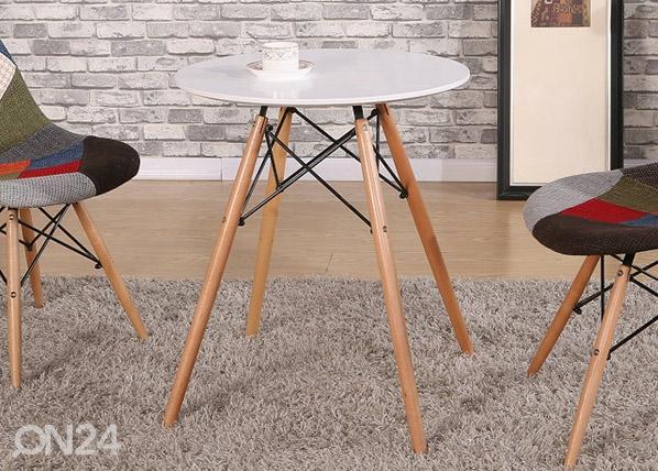 Ruokapöytä MACY Ø 60 cm AQ-80652