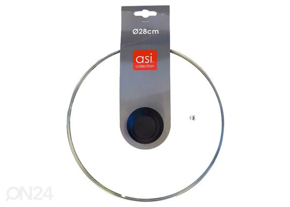 Lasikansi Ø28 cm pannuun ET-80961