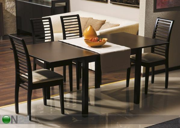 Jatkettava ruokapöytä VENTO 90x90-180 cm WS-84111