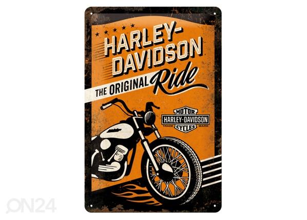 Retro metallijuliste HARLEY-DAVISONTHE ORIGINAL RIDE 20x30 cm SG-84334