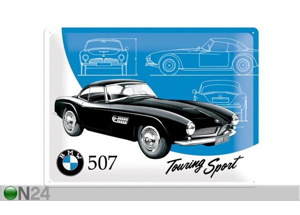 Retro metallposter BMW 507 Touring Sport 30x40 cm SG-84352