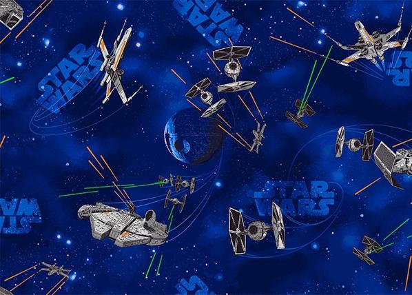 Lastenhuoneen matto STAR WARS 133x133 cm AF-84484
