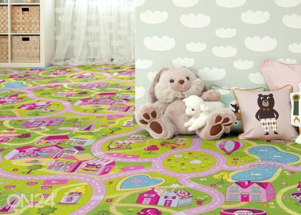 Lastenhuoneen matto HAUSKA KAUPUNKI AF-84495