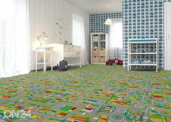 Lastenhuoneen matto LIIKENNE AF-84505