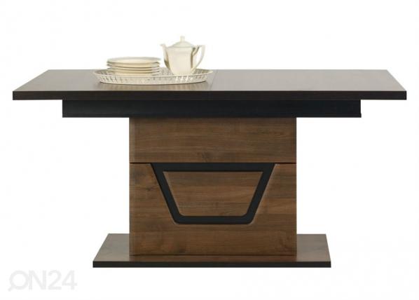 Jatkettava ruokapöytä 90x160-200 cm TF-84579