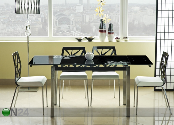 Jatkettava ruokapöytä 74x110-170 cm WS-84655