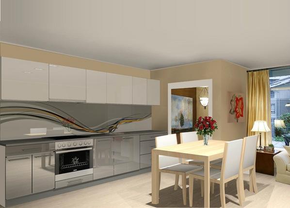 Baltest keittiö 305 cm AR-85878