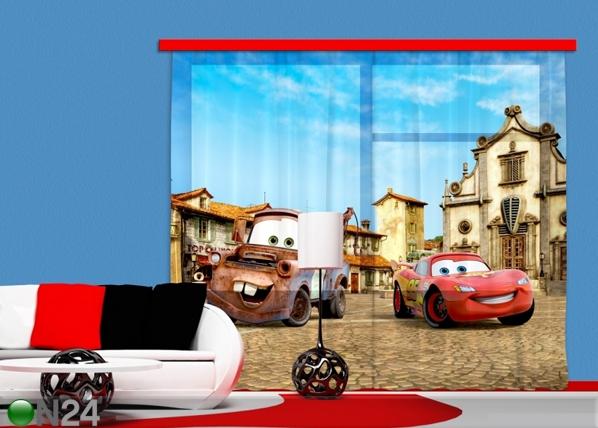Puolipimentävä fotoverho DISNEY CARS 2 ED-87329