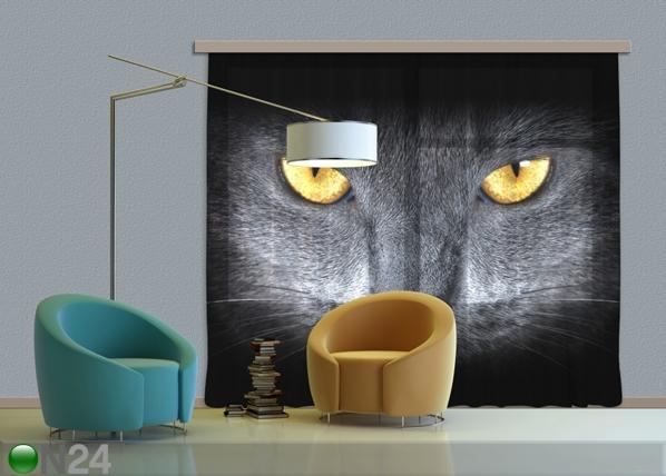 Затемняющее фотошторы Black Cat 280x245 см ED-87358