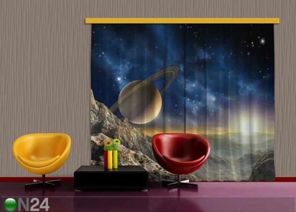 Puolipimentävä fotoverho SATURN 280x245 cm ED-87370