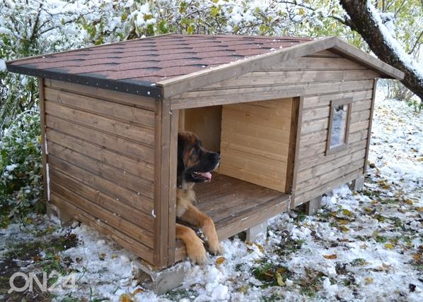 Lämpöeristetty koirankoppi MAX