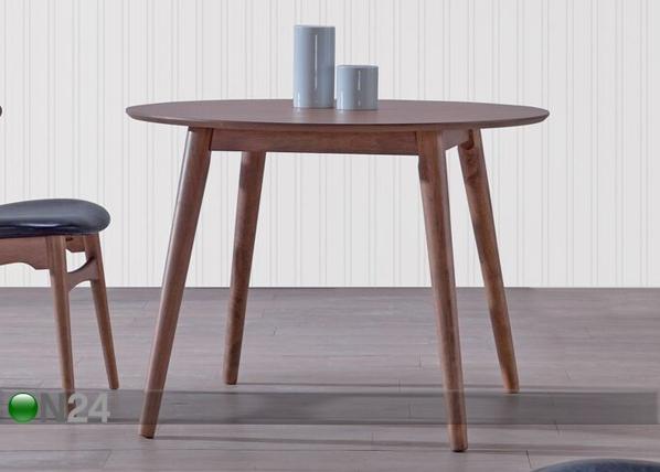 Ruokapöytä TRELLEBU Ø 100 cm BL-87788