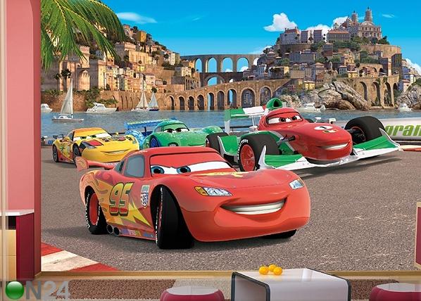 Kuvatapetti DISNEY CARS 2 RACE 360x254 cm ED-87995