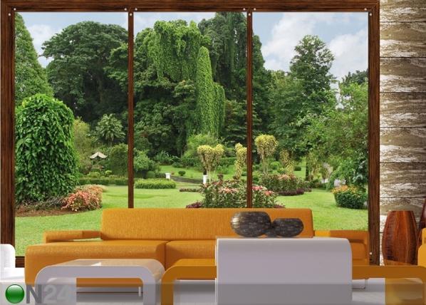 Kuvatapetti WINDOWS TO THE GARDEN 360x254 cm ED-88039