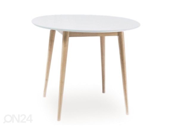 Ruokapöytä Larson Ø 90 cm WS-88705