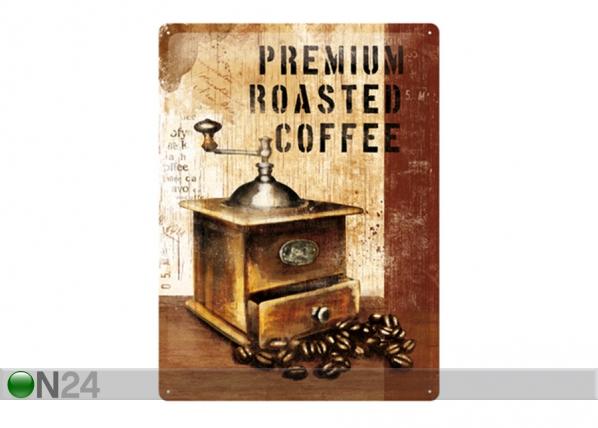 Retro metallposter Premium Roasted Coffee 30x40 cm SG-89737