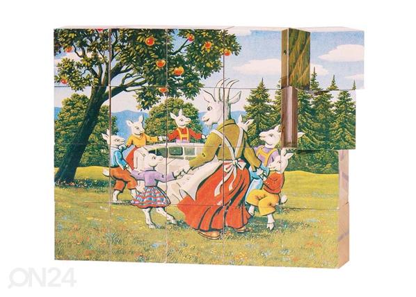 Puiset palapelikuutiot SADUT SG-90087