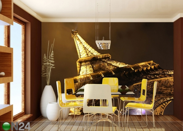Fleece kuvatapetti EIFFEL TOWER 360x270 cm ED-90560