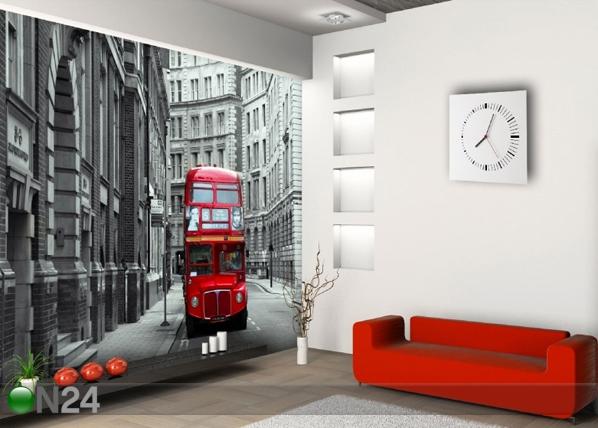 Fleece kuvatapetti LONDON BUS 360x270 cm ED-90563