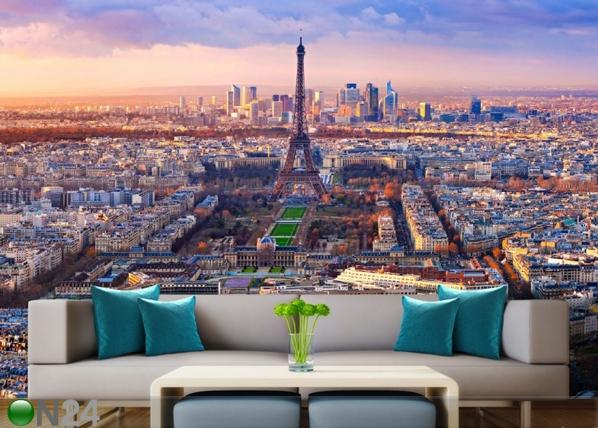 Флизелиновые фотообои Paris 360x270 см ED-90584