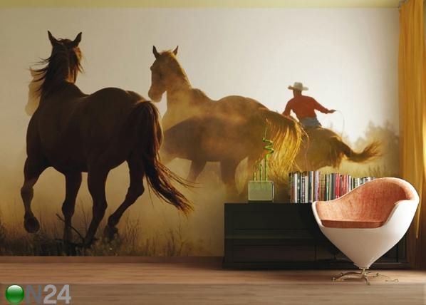 Fleece-kuvatapetti WILD WEST 360x270 cm ED-90701