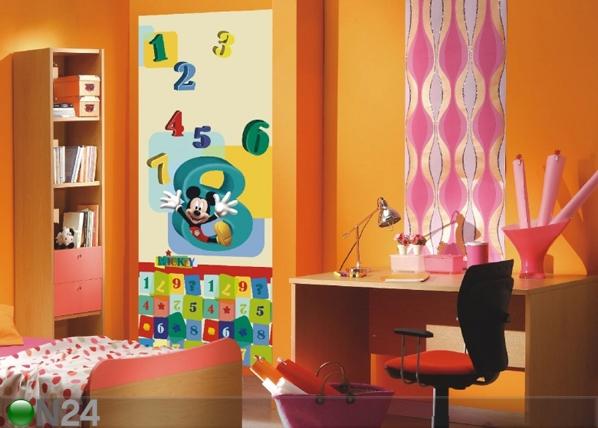 Флизелиновые фотообои Disney Mickey and numbers 90x202 см ED-91001
