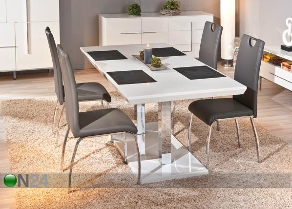 Jatkettava ruokapöytä EDMONTON 160-200x90 cm AY-91153