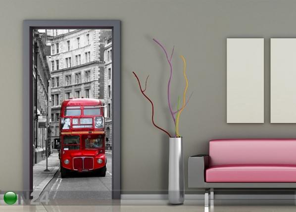 Fleece kuvatapetti LONDON 90x202 cm ED-91435