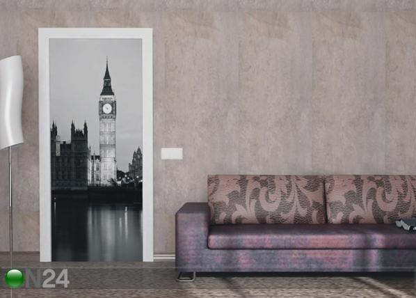 Fleece kuvatapetti LONDON BIG BEN 90x202 cm ED-91438