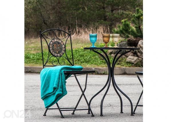 Kokoontaitteva puutarhatuoli MOSAIC EV-91439