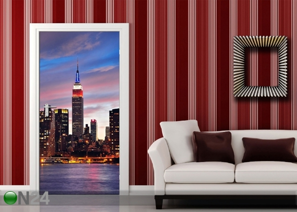 Флизелиновые фотообои Sunset in New York 90x202 cм ED-91440