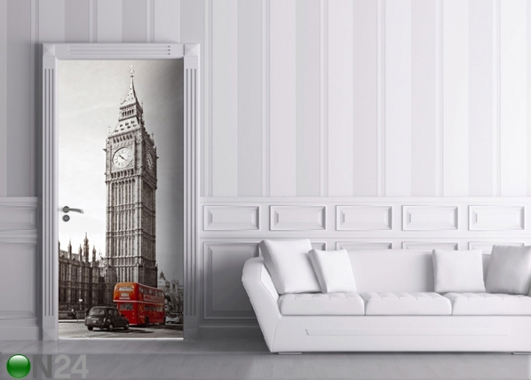 Флизелиновые фотообои Big Ben and Double Decker 90x202 cм ED-91445
