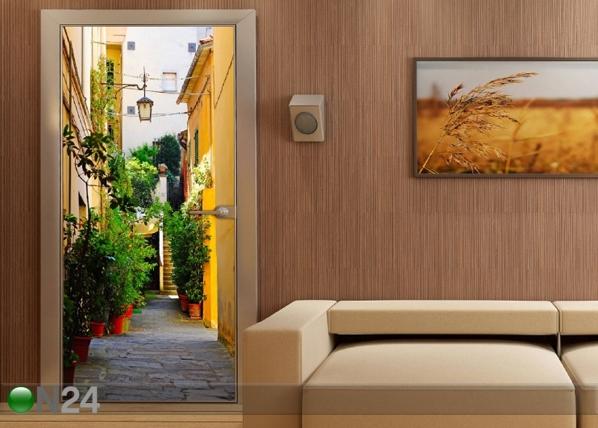 Флизелиновые фотообои Courtyard 90x202 cм ED-91454