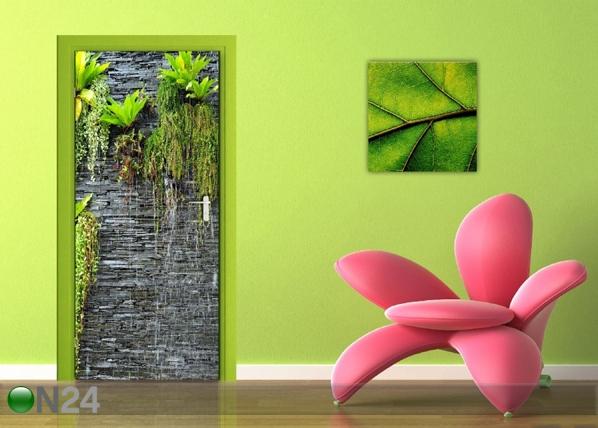 Флизелиновые фотообои Green wall 90x202 cм ED-91461