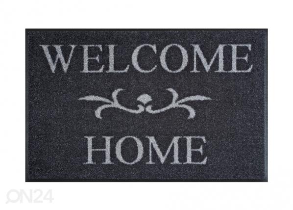Matto WELCOME HOME ANTHRAZIT 50x75 cm A5-91548