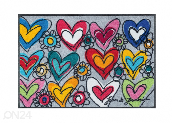 Matto WITH LOVE, ALL THINGS ARE POSSIBLE 50x75 cm A5-91552