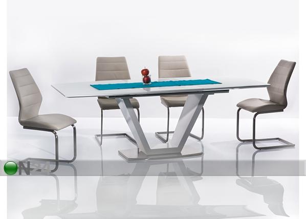 Jatkettava ruokapöytä MORANO 90x160-220 cm WS-91877