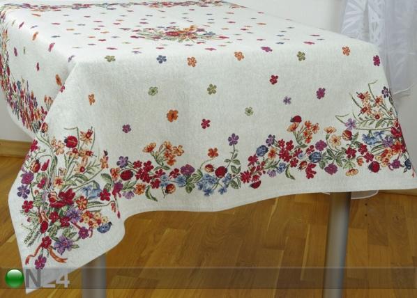Gobeläänkangast laudlina Lepatriinud 100x100 cm TG-92089