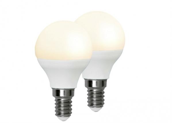 LED sähkölamppu E14 3 W, 2 kpl AA-92548