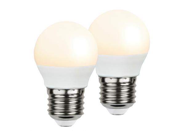 LED sähkölamppu E27 3 W, 2 kpl AA-92556