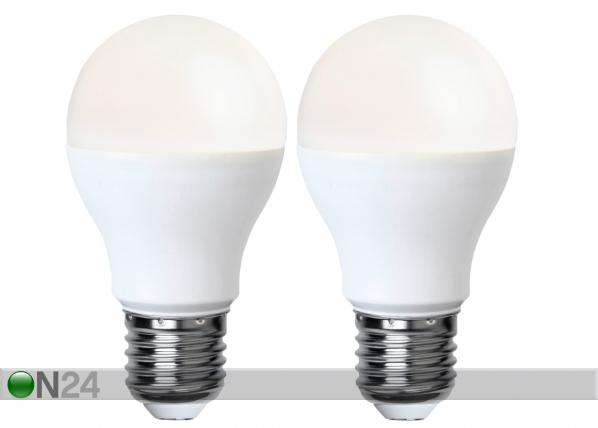 LED elektripirn E27 9 W 2 tk AA-92597