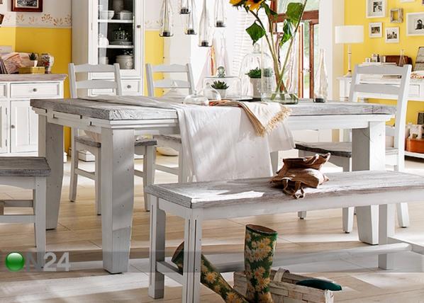 Jatkettava ruokapöytä OPUS 105x180-220 cm CM-94387