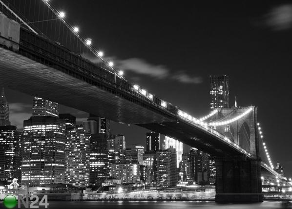 Fliis-fototapeet Brooklyn bridge 4 360x270 cm ED-94816
