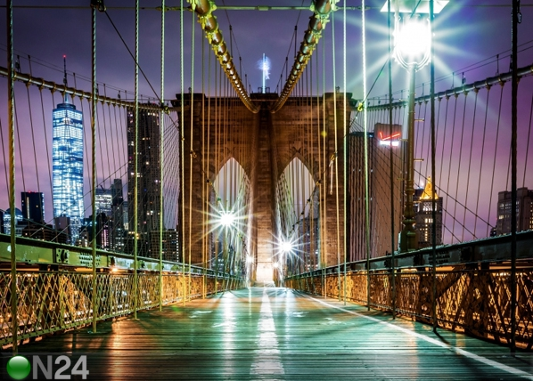 Fliis-fototapeet Brooklyn bridge 6 360x270 cm ED-94888