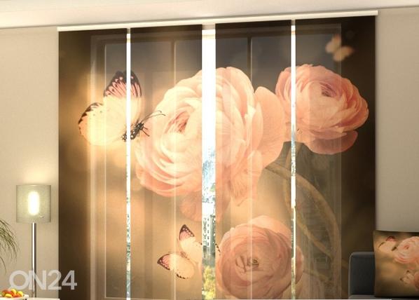 Puolipimentävä paneeliverho SILENCE 240x240 cm, Wellmira