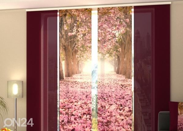 Puolipimentävä paneeliverho ALLEY MAGNOLIAS 240x240 cm, Wellmira